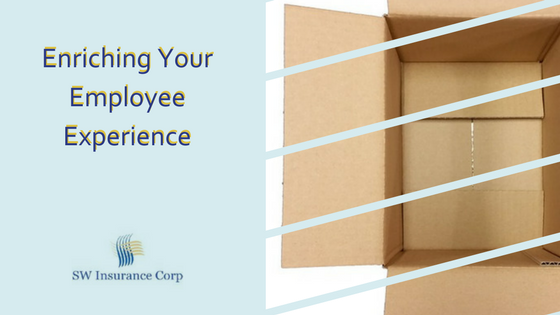 Enriching Your Employee Experience ~ Outside the Box Thinking for Employers