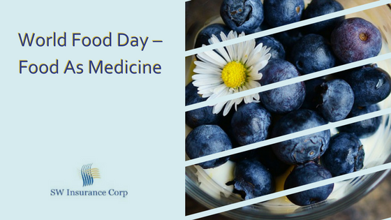 World Food Day – Food As Medicine