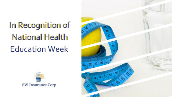 In Recognition of National Health Education Week